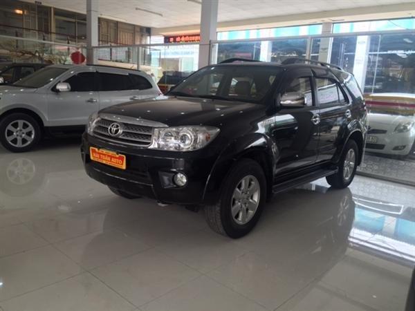 Hải Tuấn Auto cần bán xe Toyota Fortuner 2010, màu đen, 770 triệu-0