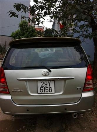 Cần bán lại xe Toyota Innova G cũ màu bạc giá 440tr-0