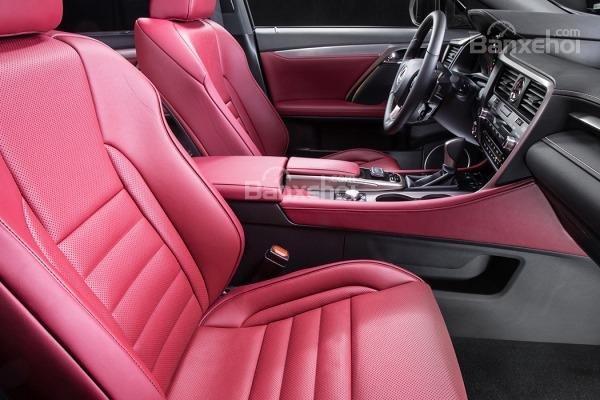 Đánh giá ghế xe Lexus RX 2016