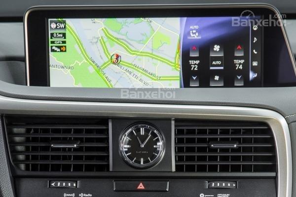 Đánh giá hệ thống điều hòa xe Lexus RX 2016