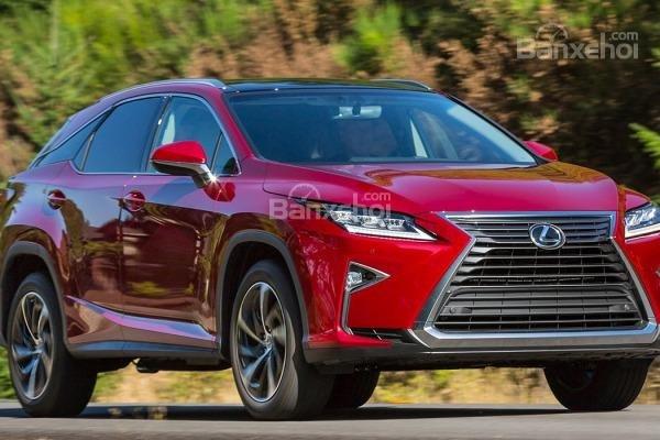 Nhận xét xe Lexus RX 2016