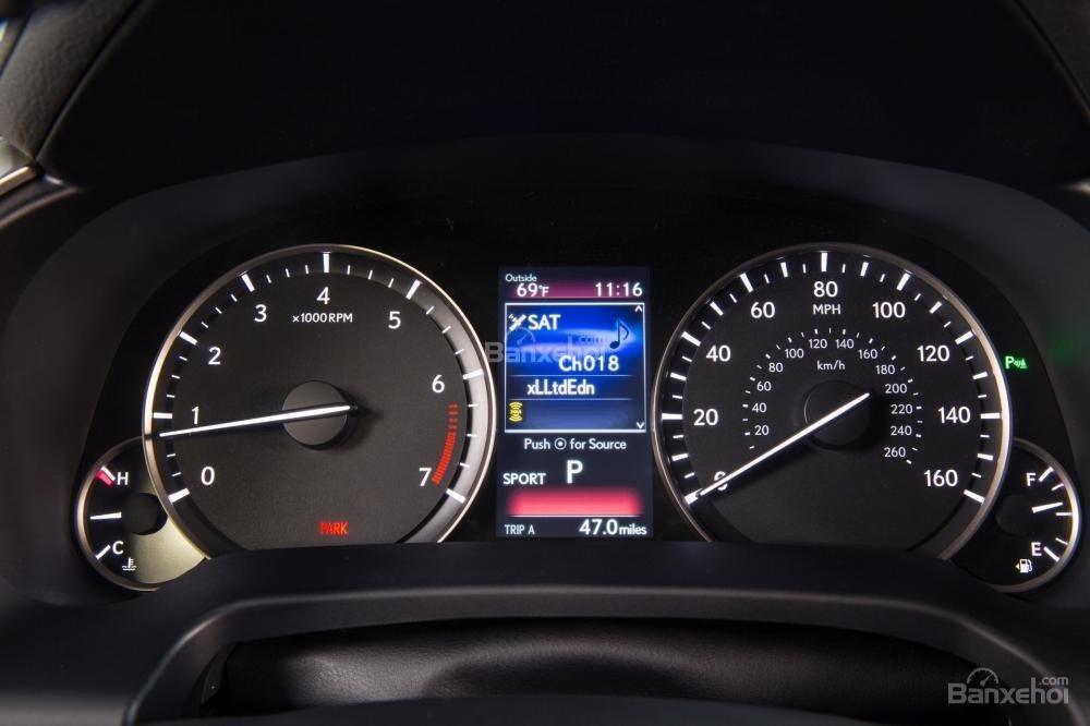 Đánh giá cụm đồng hồ xe Lexus RX 2016