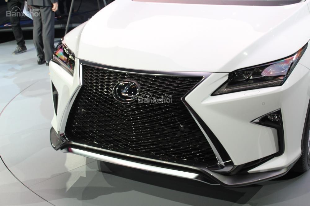 Đánh giá lưới tản nhiệt xe Lexus RX 2016