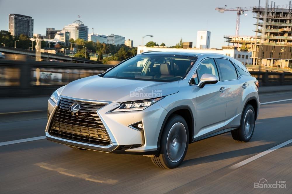 Đánh giá cảm giác lái xe Lexus RX 2016