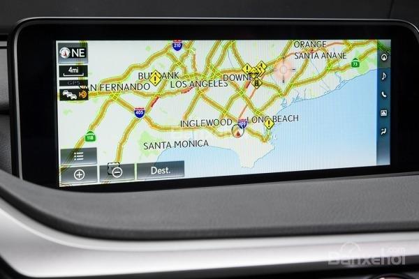 Đánh giá bản đồ xe Lexus RX 2016