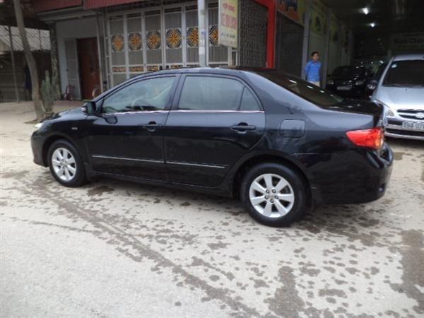 Cần bán lại xe Toyota Corolla Altis đời 2009, màu đen, số tự động -2