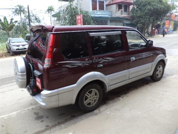 Bán ô tô Mitsubishi Jolie đời 2003, màu đỏ, xe đẹp-4