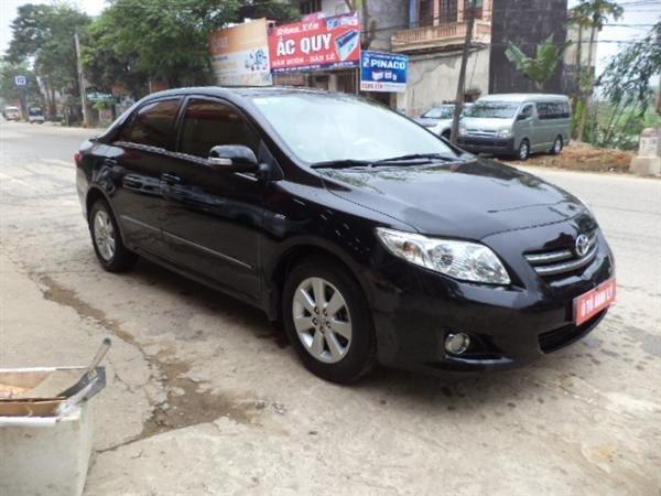 Cần bán lại xe Toyota Corolla Altis đời 2009, màu đen, số tự động -0