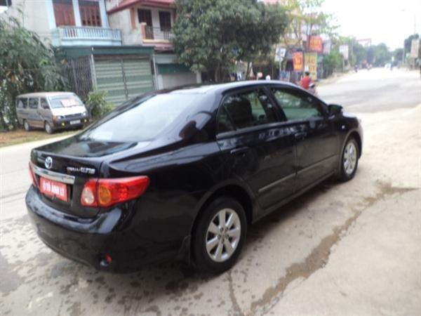 Cần bán lại xe Toyota Corolla Altis đời 2009, màu đen, số tự động -4