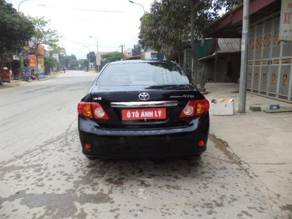 Cần bán lại xe Toyota Corolla Altis đời 2009, màu đen, số tự động -3