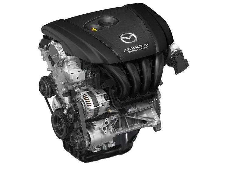 Động cơ của Mazda6 2014.