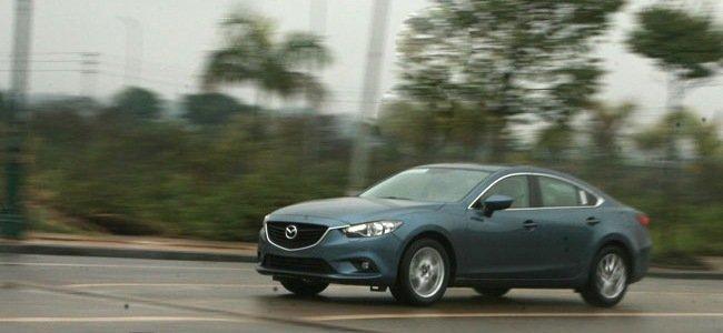 Thân xe Mazda6 2014.