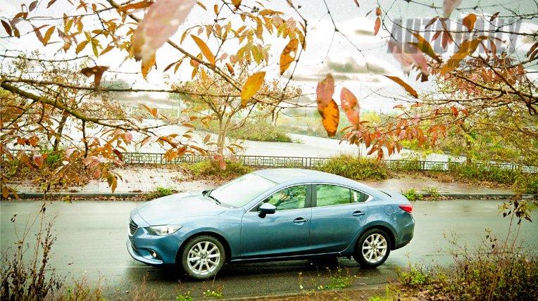 Mazda6 thiết kế khá trẻ trung và thực dụng 2