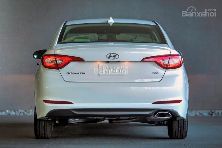 Đuôi xe Hyundai Sonata 2015.