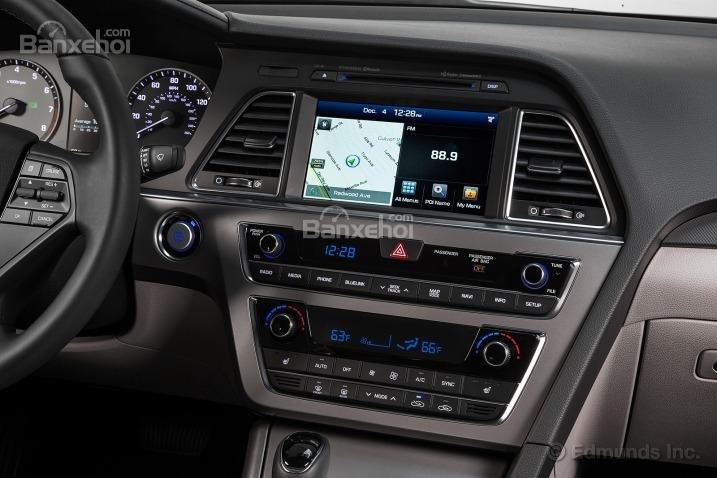 Cửa sổ trời thông thoáng của Mazda6 2014.
