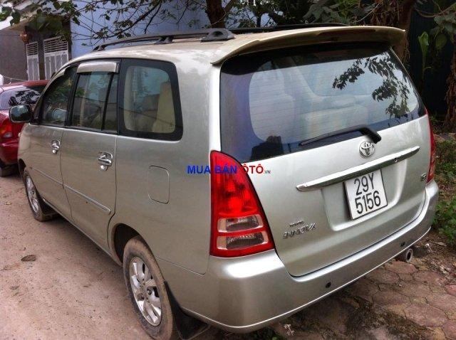 Cần bán gấp Toyota Innova đời 2006, màu bạc, giá cực rẻ-1