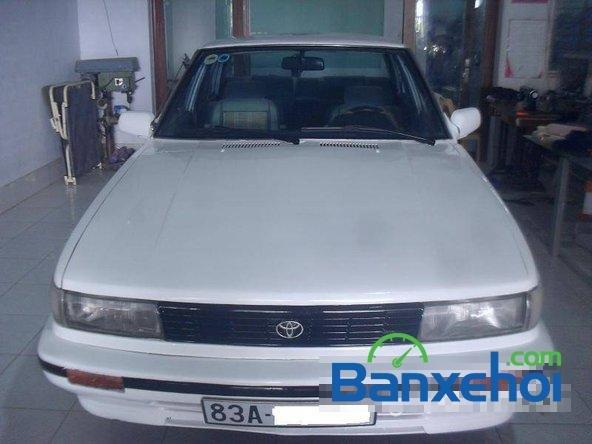 Cần bán lại xe Toyota Corolla ls đời 1986, màu trắng, giá 65 triệu-0