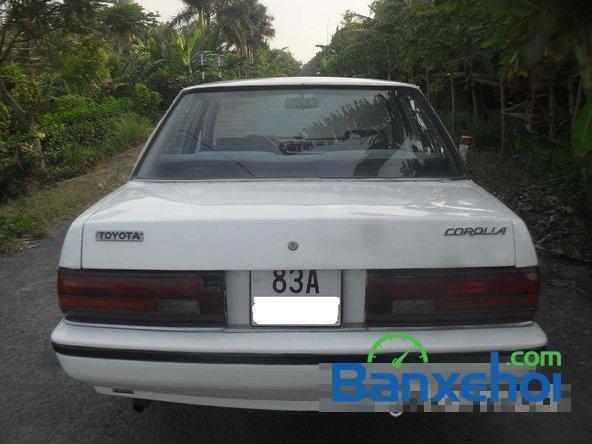 Cần bán lại xe Toyota Corolla ls đời 1986, màu trắng, giá 65 triệu-1