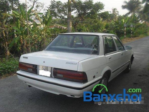 Cần bán lại xe Toyota Corolla ls đời 1986, màu trắng, giá 65 triệu-4