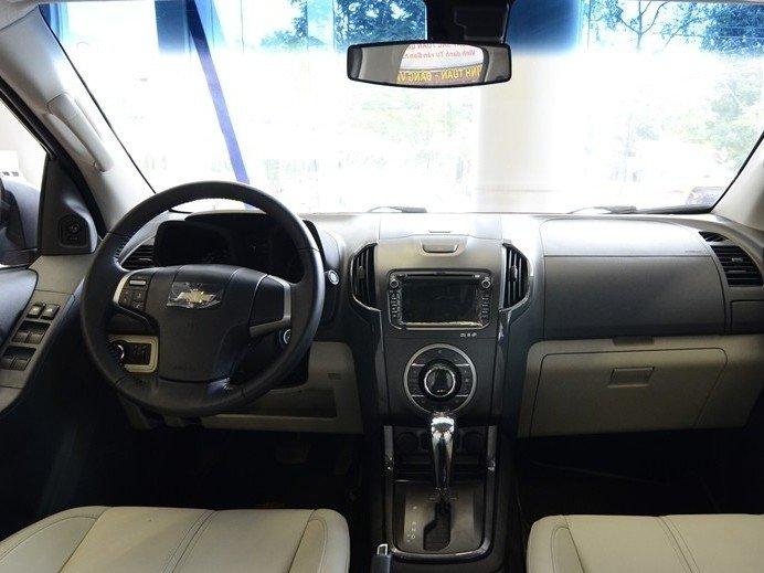 Nội thất của Chevrolet Colorado 2015.