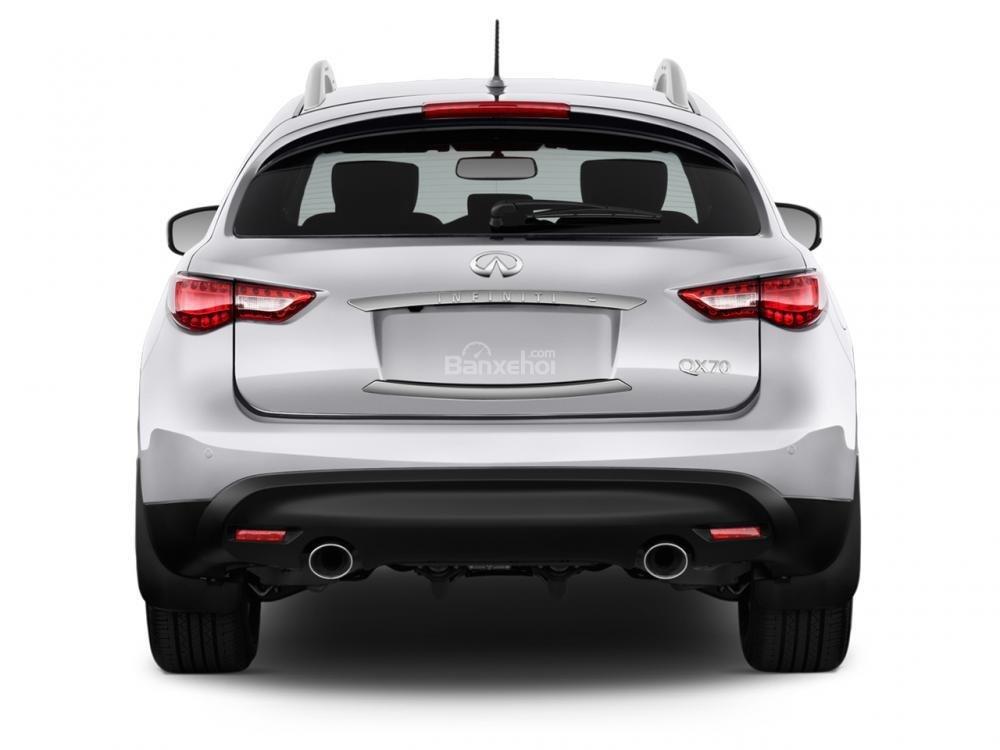 Đánh giá đuôi xe Infiniti QX70 2015