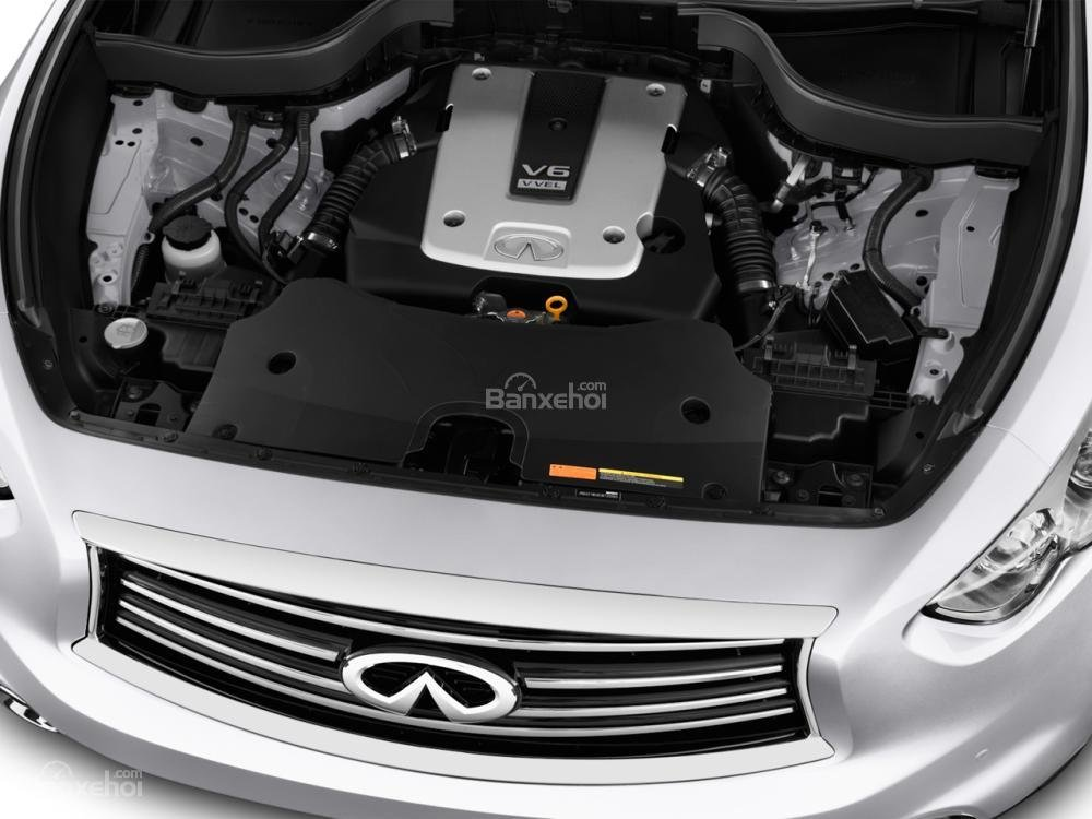 Đánh giá động cơ xe Infiniti QX70 2015