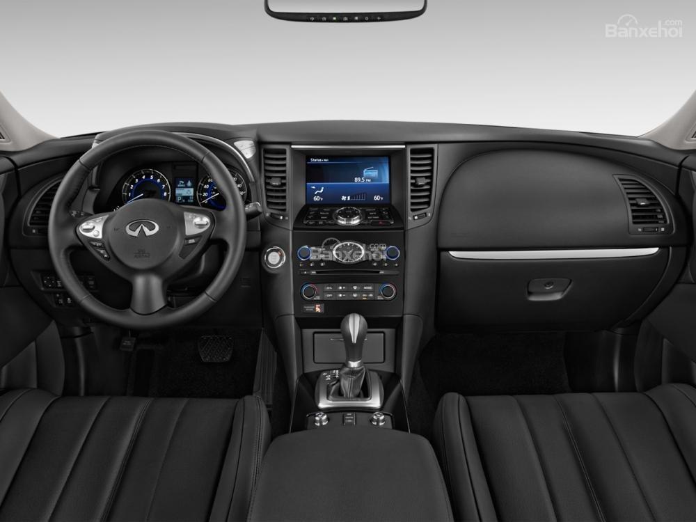 Đánh giá nội thất xe Infiniti QX70 2015