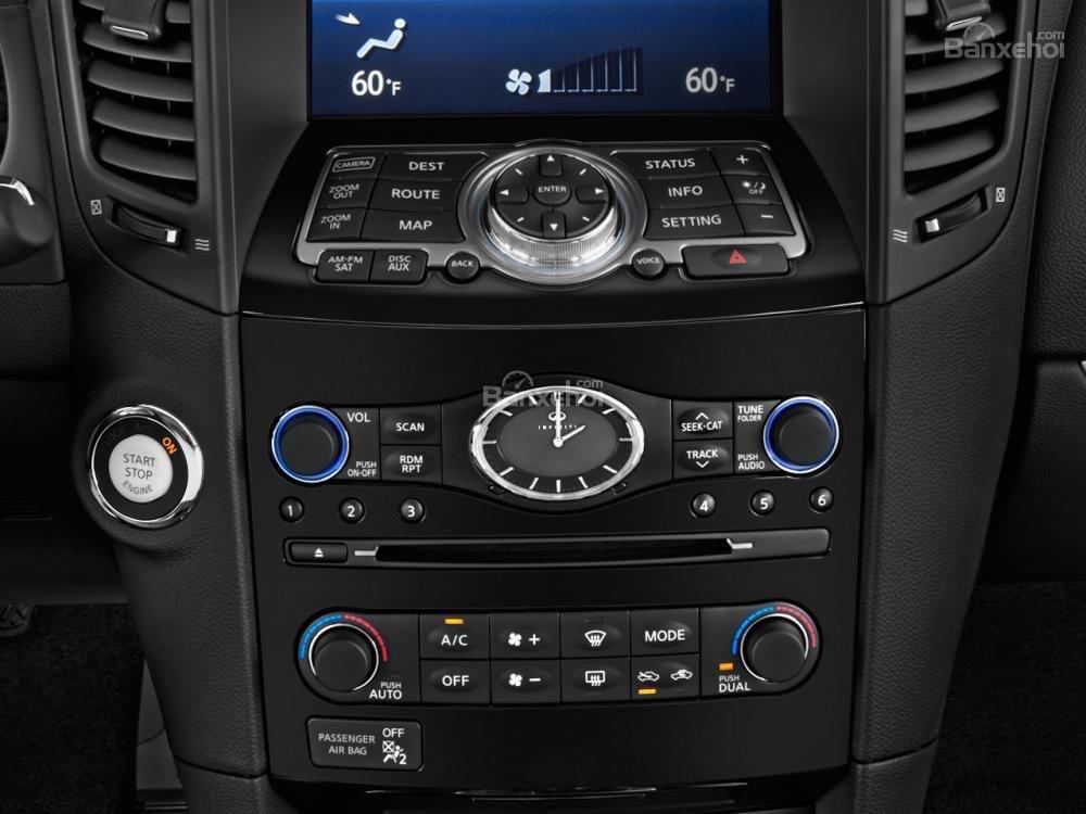 Đánh giá bảng điều khiển xe Infiniti QX70 2015