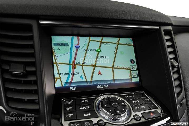 Đánh giá tích hợp bản đồ trên xe Infiniti QX70 2015