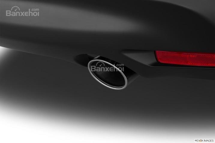 Đánh giá ống xả xe Infiniti QX70 2015