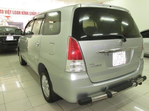 Cần bán gấp Toyota Innova G sản xuất 2009, màu bạc, chính chủ-1