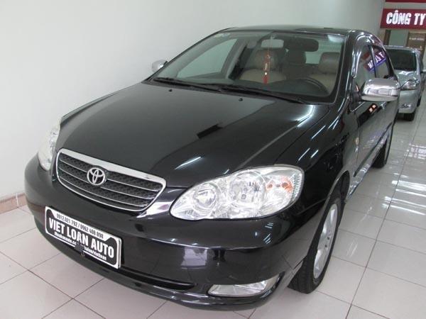 Cần bán xe Toyota Corolla Altis 1.8G 2006, màu đen, số sàn, 485 triệu-0