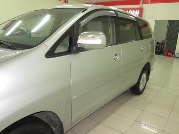 Cần bán gấp Toyota Innova G sản xuất 2009, màu bạc, chính chủ-7