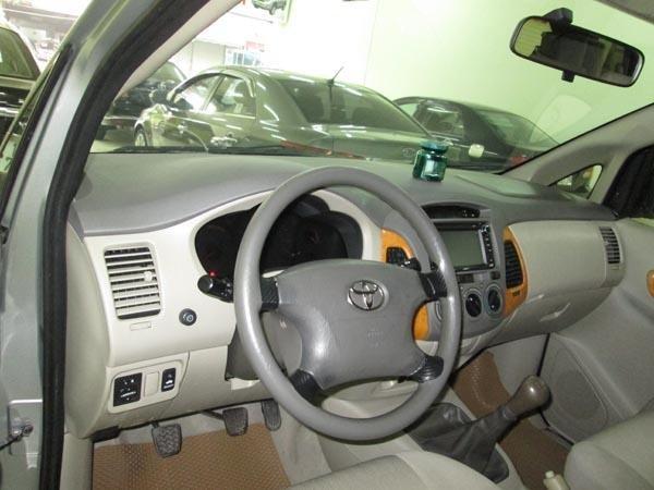 Cần bán gấp Toyota Innova G sản xuất 2009, màu bạc, chính chủ-4