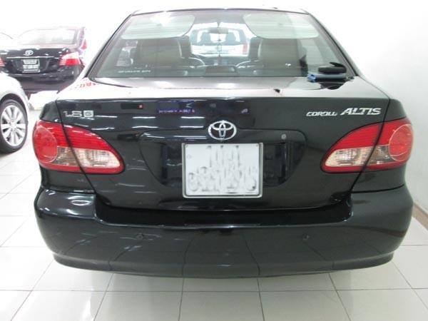 Cần bán xe Toyota Corolla Altis 1.8G 2006, màu đen, số sàn, 485 triệu-2