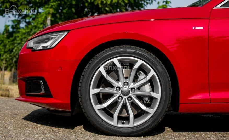 Đánh giá bánh xe Audi A4 2017