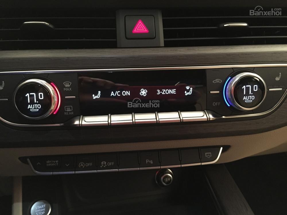 Đánh giá tiện nghi xe Audi A4 2017