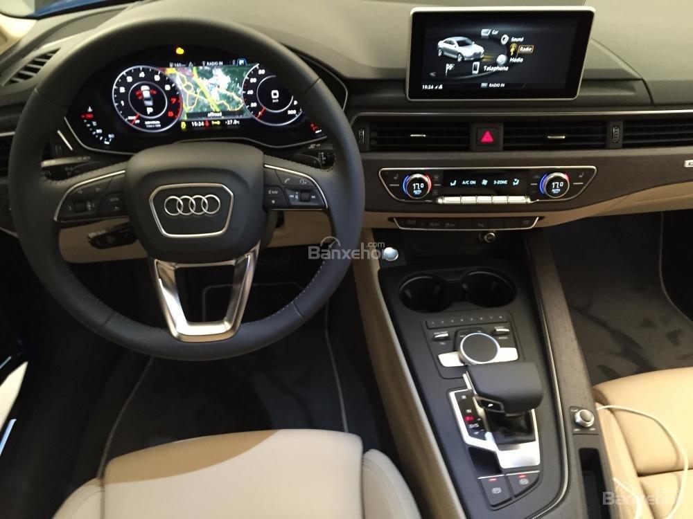 Đánh giá nội thất xe Audi A4 2017