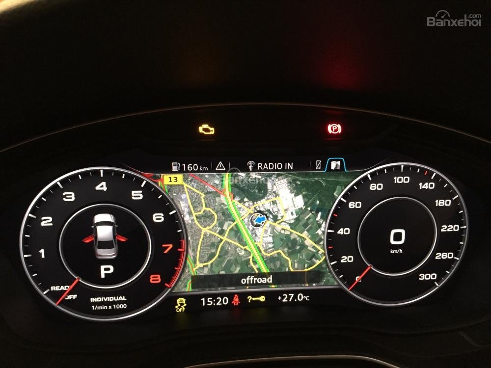 Đánh giá đồng hồ xe Audi A4 2017