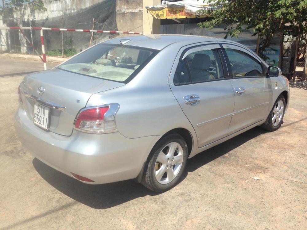 Toyota Vios sản xuất 2007, màu bạc, giá chỉ 380 triệu-5