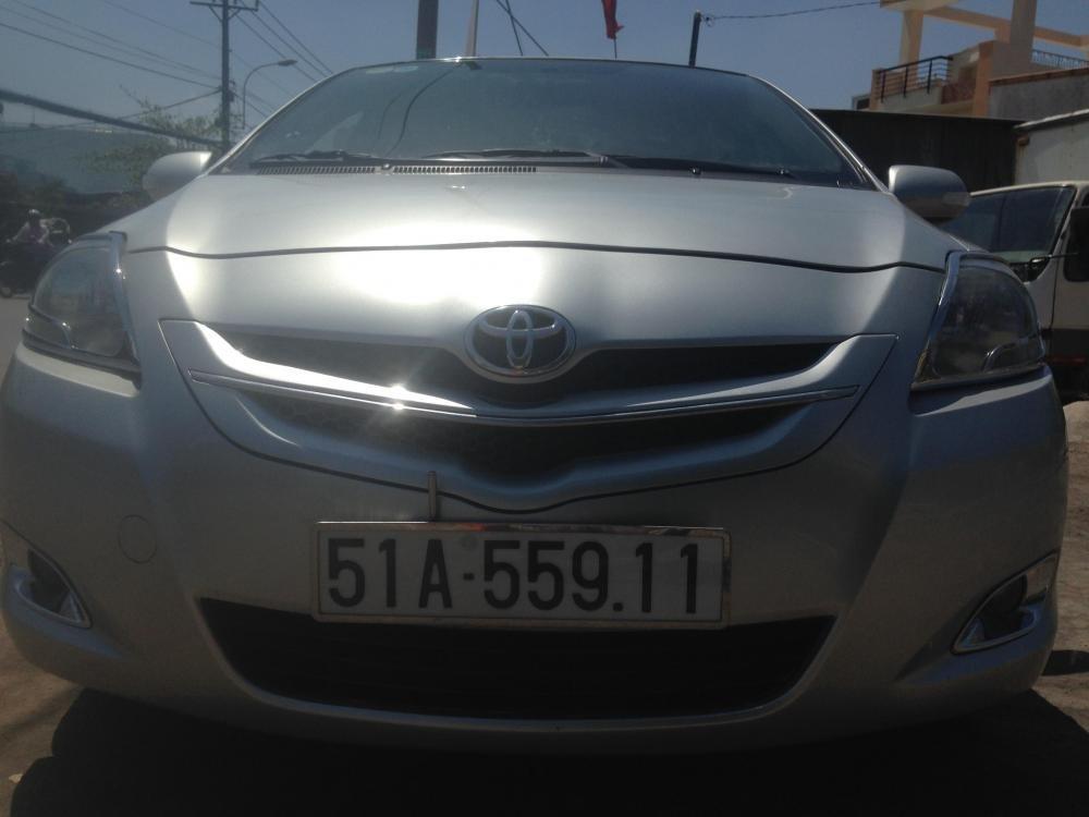 Toyota Vios sản xuất 2007, màu bạc, giá chỉ 380 triệu-2