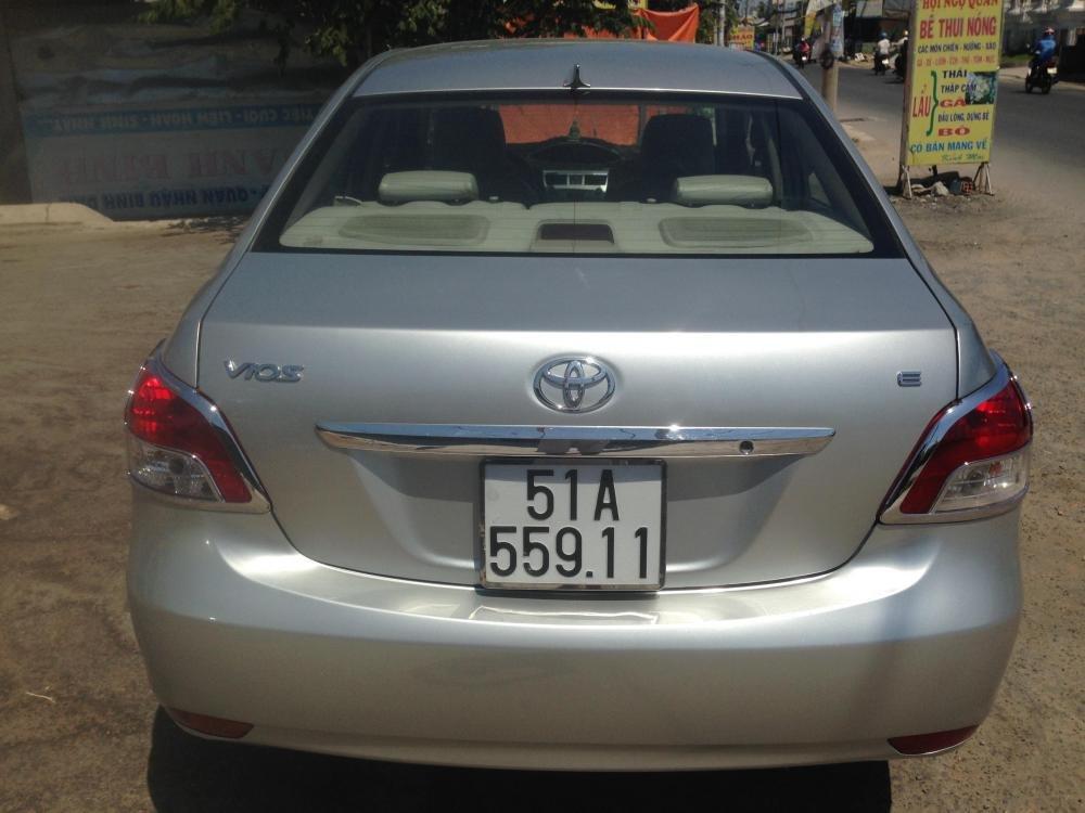 Toyota Vios sản xuất 2007, màu bạc, giá chỉ 380 triệu-8