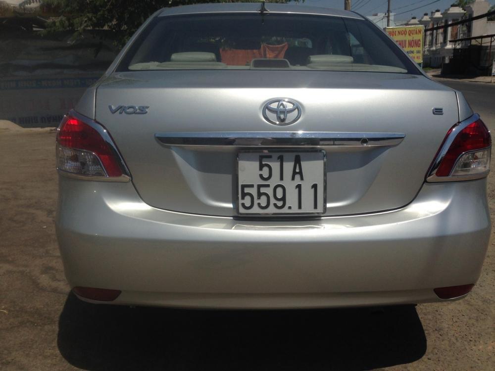 Toyota Vios sản xuất 2007, màu bạc, giá chỉ 380 triệu-4