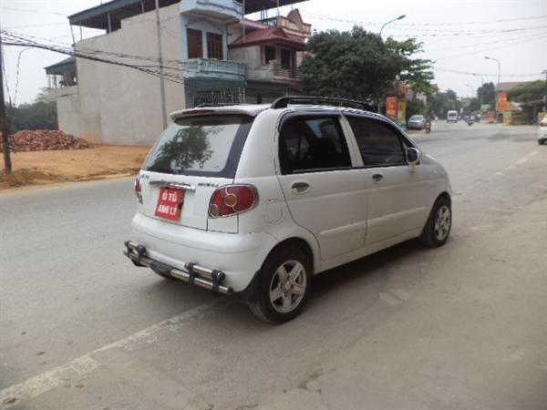 Bán ô tô Daewoo Matiz sản xuất 2008, màu trắng -4