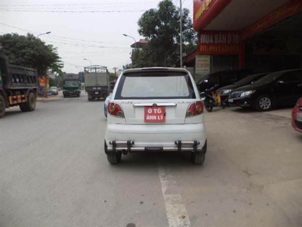 Bán ô tô Daewoo Matiz sản xuất 2008, màu trắng -2