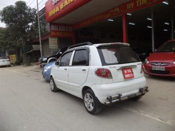 Bán ô tô Daewoo Matiz sản xuất 2008, màu trắng -3