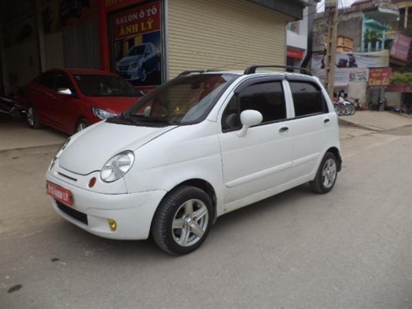 Bán ô tô Daewoo Matiz sản xuất 2008, màu trắng -0