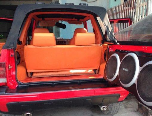 Cần bán lại xe Chevrolet Tracker đời 1991, màu đỏ, xe nhập-2