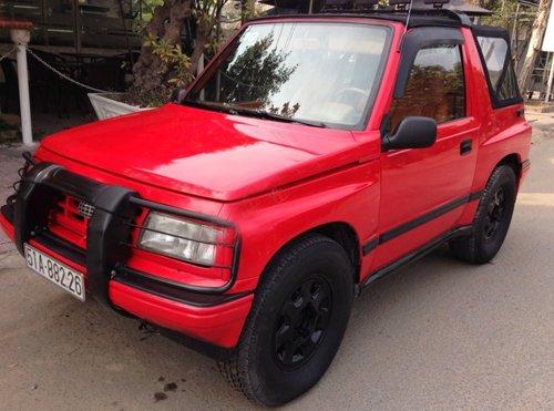 Cần bán lại xe Chevrolet Tracker đời 1991, màu đỏ, xe nhập-0