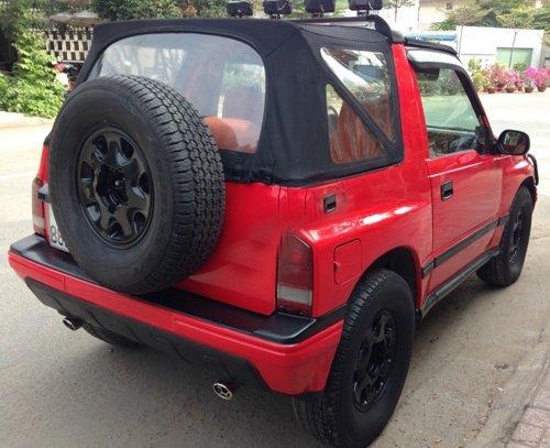 Cần bán lại xe Chevrolet Tracker đời 1991, màu đỏ, xe nhập-1